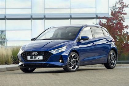 Hyundai i20 finance lease cars