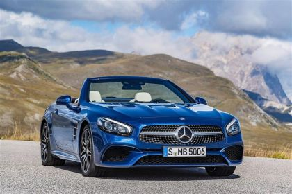 Lease Mercedes-Benz SL car leasing
