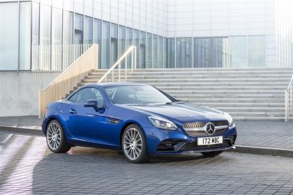 Lease Mercedes-Benz SLC car leasing
