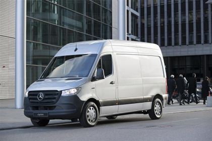 Lease Mercedes-Benz Sprinter HGV van leasing
