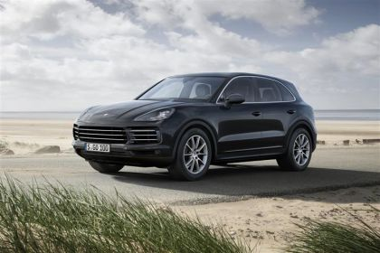 Porsche Cayenne finance lease cars