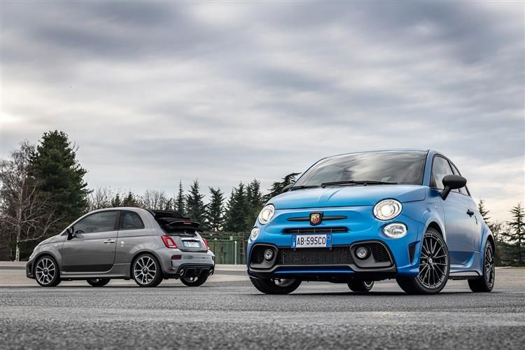 Abarth 595 Hatch 3Dr 1.4 T-Jet 165PS Pista 70th 3Dr Manual