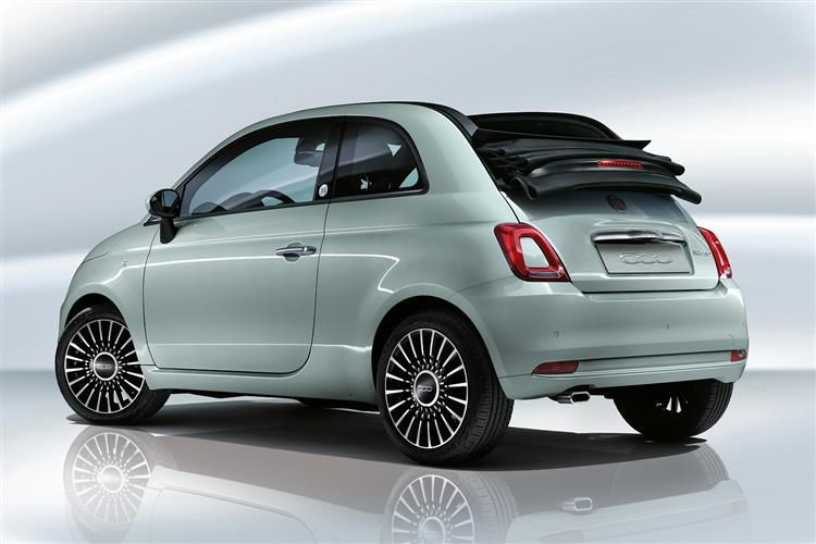 Fiat 500 C Convertible 1.0 MHEV 70PS Sport 2Dr Manual [Start Stop]