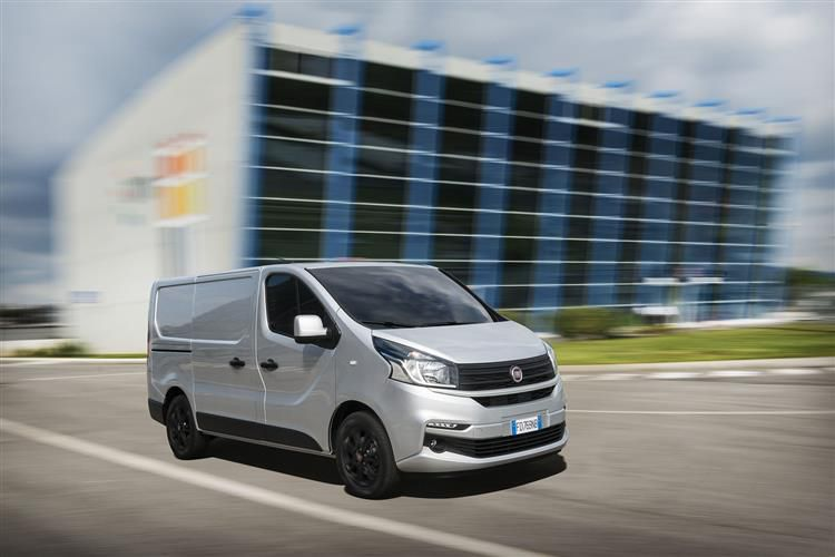 Fiat Talento SWB 10 2.0 Multijet FWD 120PS SX Van Manual [Start Stop]
