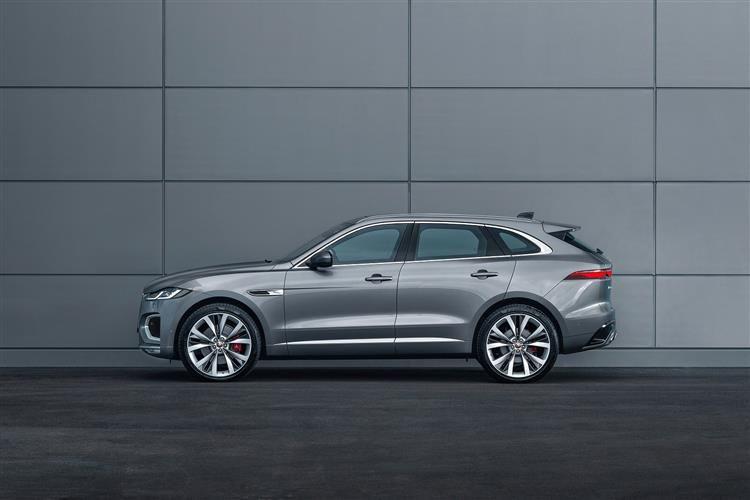 Jaguar F-PACE SUV SUV AWD 2.0 P400e PHEV 17.1kWh 404 R ...
