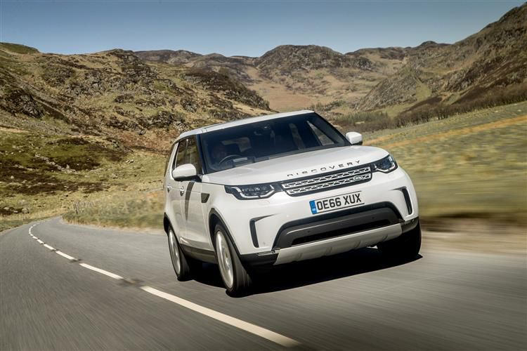 Land Rover Discovery LCV 2.0 SD4 4WD 240PS S Van Auto [Start Stop]