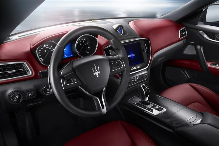 Maserati Ghibli Saloon 3.0 D V6 275PS  4Dr ZF [Start Stop]