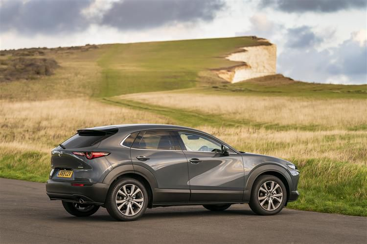 Mazda CX-30 SUV 2.0 e-SKYACTIV X MHEV 186PS GT Sport Tech 5Dr Manual [Start Stop] [Stone Leather]