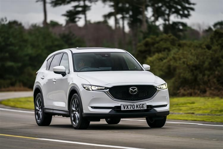 Mazda CX-5 SUV 2.0 SKYACTIV-G 165PS Sport 5Dr Auto [Start Stop] [Safety]