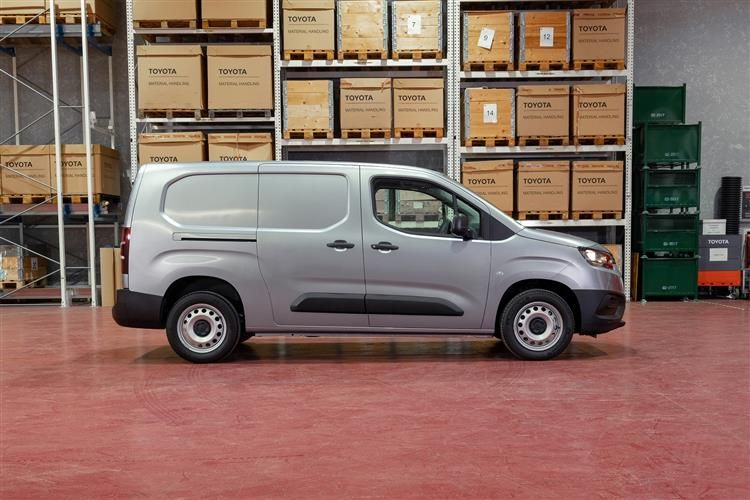 Toyota PROACE CITY Short 1.5  BlueHDi FWD 100PS Active Van Manual [Start Stop] [Smart Cargo]