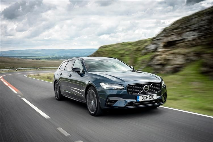 Volvo V90 Estate AWD PiH 2.0 h T8 Twin Engine 11.6kWh 390PS R DESIGN Plus 5Dr Auto [Start Stop]