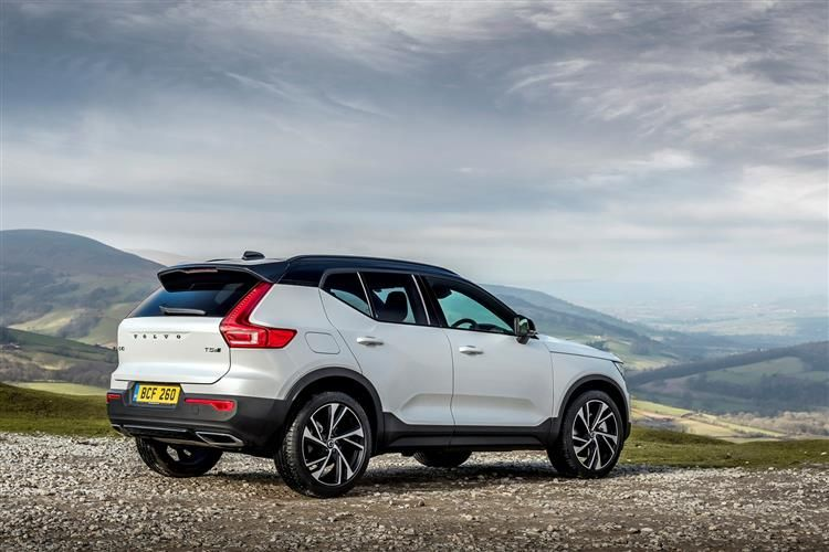 Volvo XC40 SUV AWD 2.0 B5 MHEV 250PS R DESIGN 5Dr Auto [Start Stop]